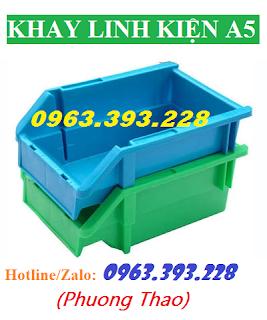 Khay đựng ốc vít A5, hộp nhựa đựng linh kiện, hộp nhựa đựng kim chỉ trong xưởng may, hộp nhựa đựng các sản phẩm cơ khí trong nhà xưởng