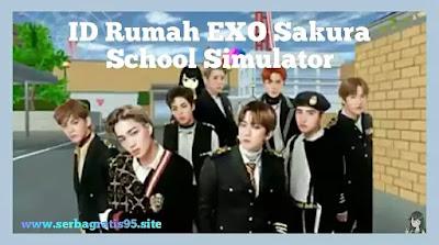 ID Rumah Exo di Sakura School Simulator