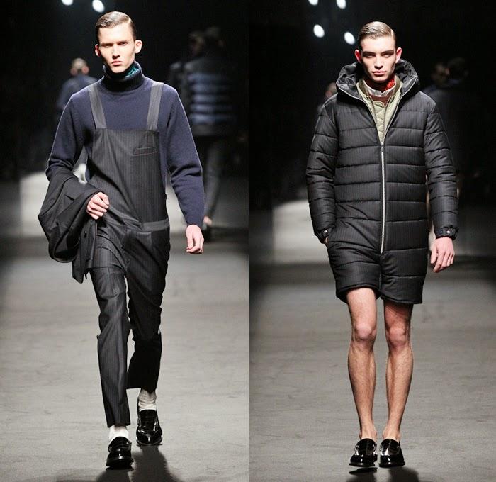 Mr Gentleman 2014 2015 Fall Winter Mens Runway Cool Chic