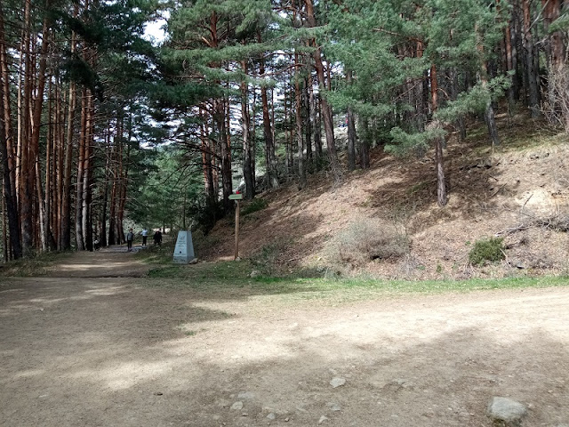 Puerta de los Carpetanos en el Parque Natural de Guadarrama