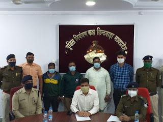 लोधीखेड़ा पुलिस को मिली बड़ी सफलता, 2 दिन में लूट के आरोपी को किया गिरफ्तार