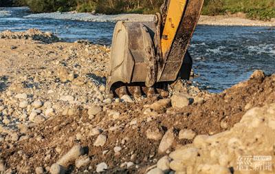 雲林破獲盜採砂石  水利署加強易盜採區域巡防