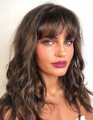 Women Long Wavy Hair With Bangs Wavy Hair 2021