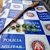 POLICIAL: PM COMBATE TRÁFICO DE DROGAS E APREENDE ARMA EM PONTO NOVO