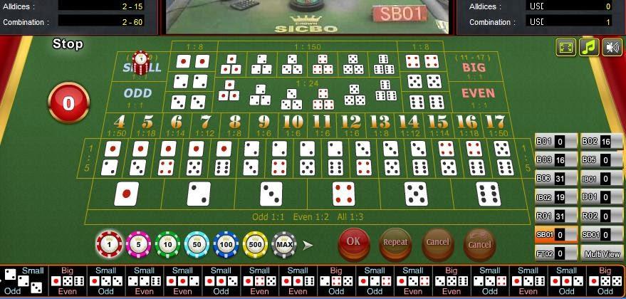 dadu sic bo casino online