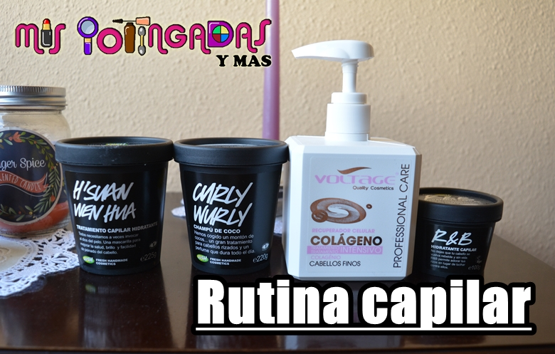 Review | Rutina capilar con Lush y Voltage