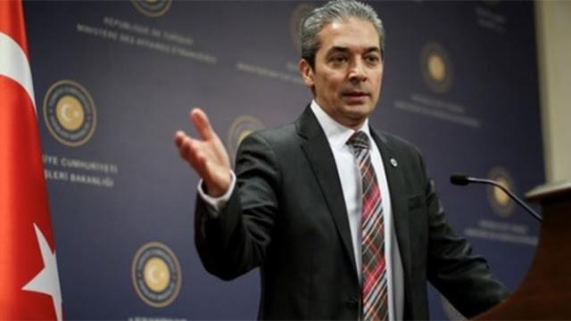 Τουρκικό ΥΠΕΞ: Το οικόπεδο 7 είναι στην υφαλοκρηπίδα μας