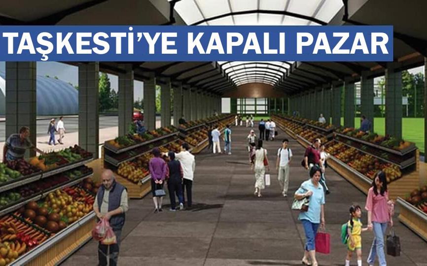 Taşkesti'ye Üstü Kapalı Pazar Yeri Yapılıyor