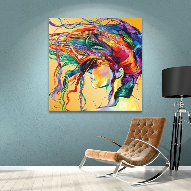 Windswept Painting Print on Canvas