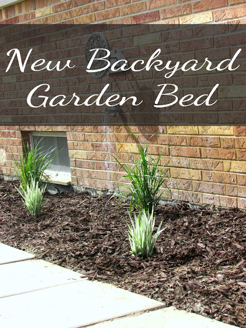 New Garden Bed using Native Grasses for Low Water Usage