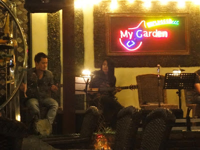 My Garden music lounge and restaurant at Ahlon Road