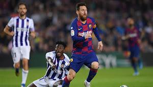 Prediksi Skor Real Valladolid vs Barcelona 23 Desember 2020