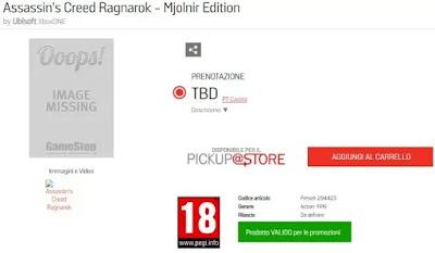 لعبة Assassin's Creed Ragnarok تظهر من جديد في عدة متاجر