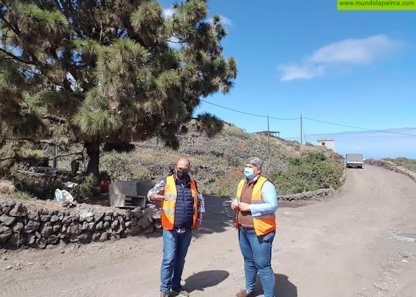 Avanzan a buen ritmo las obras de la segunda fase del Camino Los Campitos
