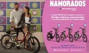 Promoção Morumbi Shopping Dia dos Namorados 2019 Bikes Elétricas Todo Dia