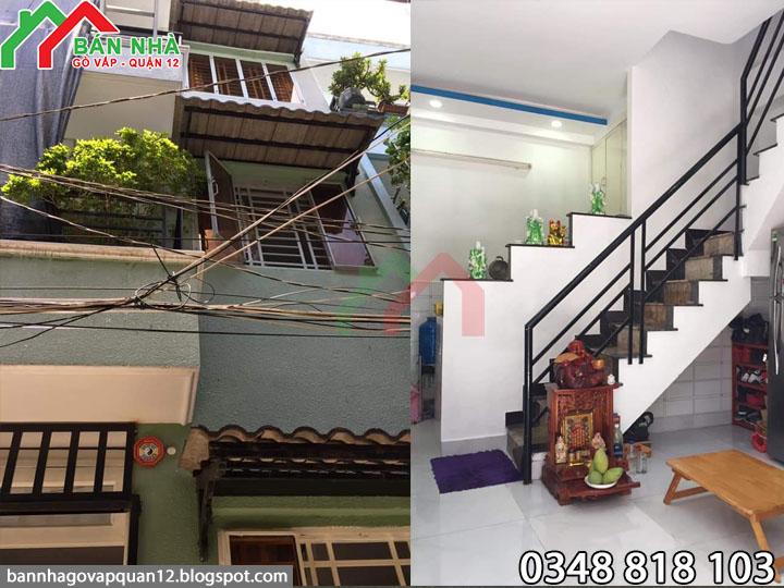 Bán nhà hẻm 488 Phạm Văn Chiêu P.16 Gò Vấp