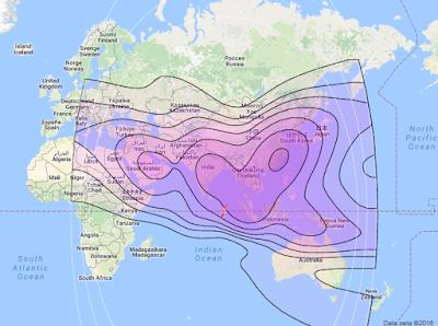 Satelit ST 2 88.0°E CBand