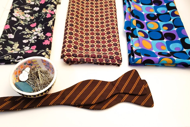 How to select fabrics for bow ties