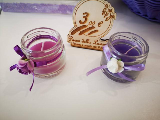 candele lavanda