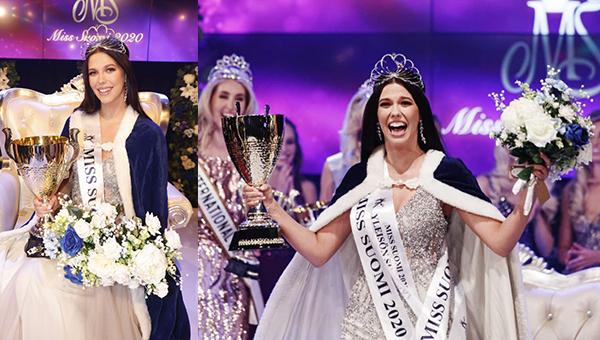 Viivi Altonen es Miss Suomi 2020