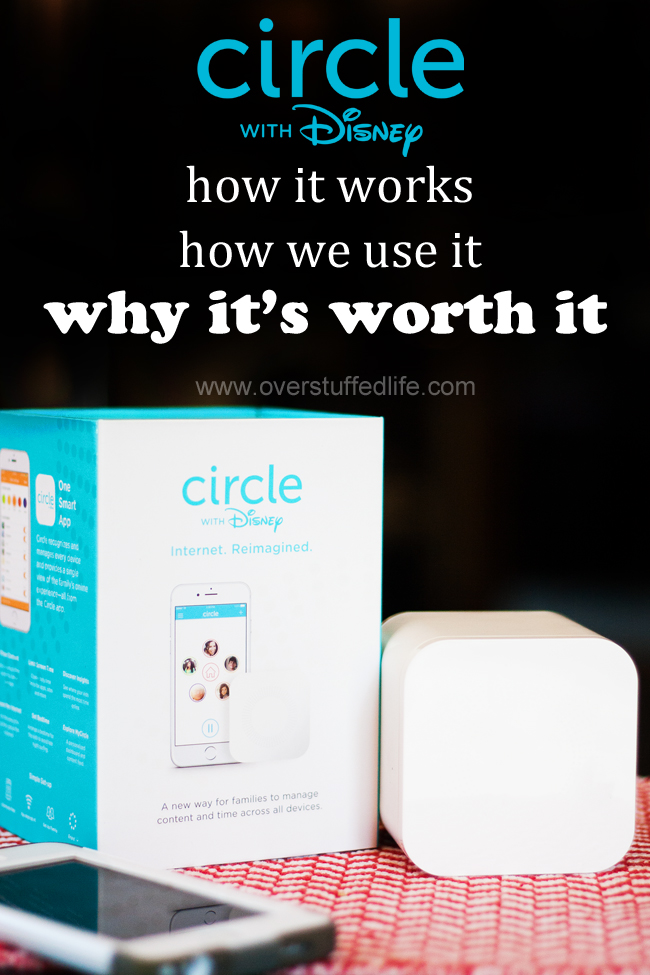 Thinking of purchasing a Circle with Disney and wondering how it works? Here's how we use it, and why I think it's worth buying. #overstuffedlife
