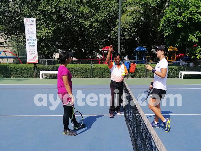 Lumat Elma Malinda, Aldila Melenggang ke Babak 2 Tennis Open di Jakarta