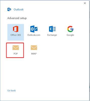 cara setting email perusahaan di outlook