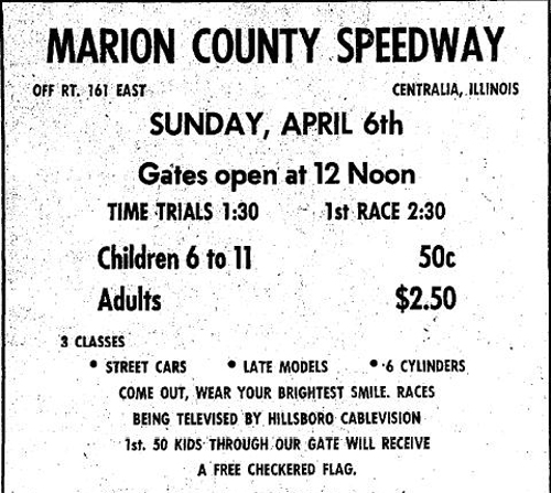 Midwest Racing Archives: Advertisements from the Past