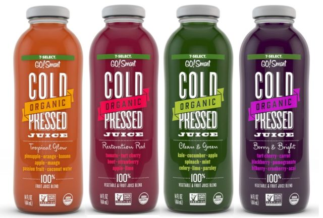 7 Eleven Launches New Organic Cold Pressed Juice Line