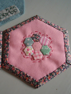 Hexagon Needlecase - back