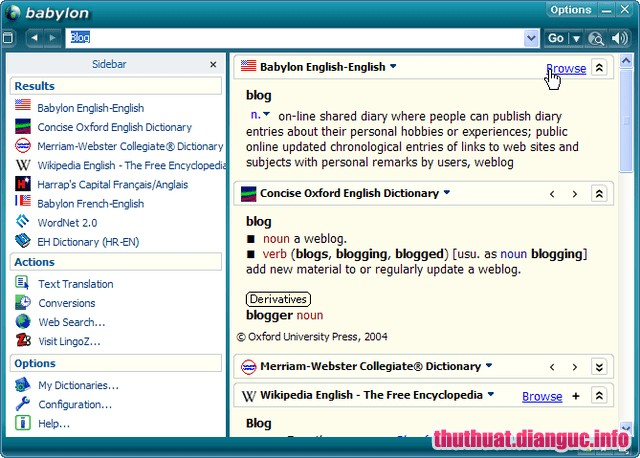 Download Babylon Pro 11.0.0.29 Full Cr@ck – Phần mềm từ điển đa ngôn ngữ