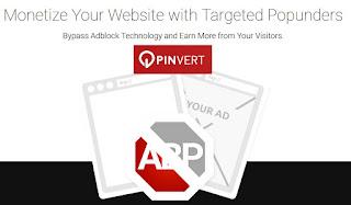 Pinvert, publicidad Popunder para adultos