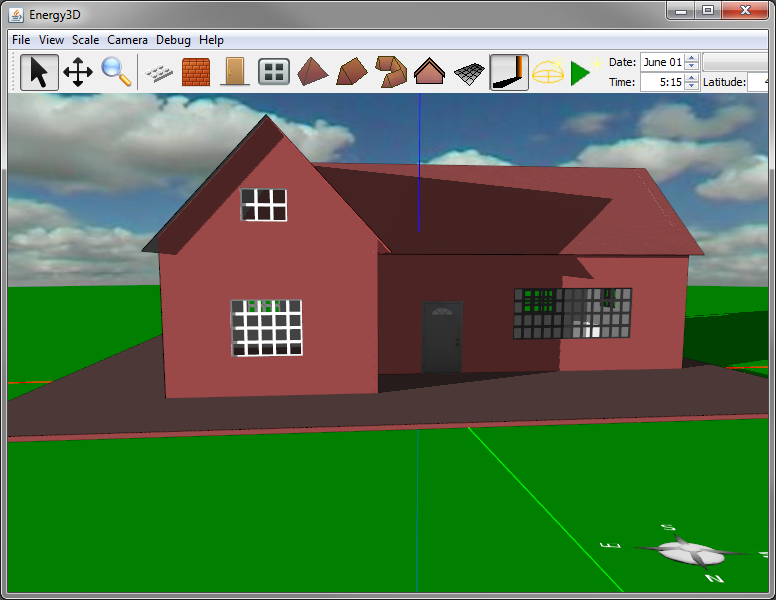 Engineering computation laboratory design your own house with energy3d Draw your house