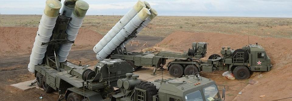ЗС РФ отримали чотири полкові комплекти ЗРК С-400