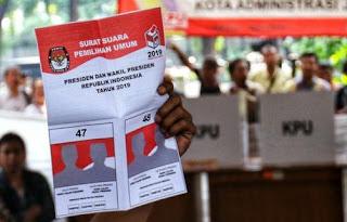 Cara Mencoblos Pemilu 2019 Luar Negeri dan Luar Daerah