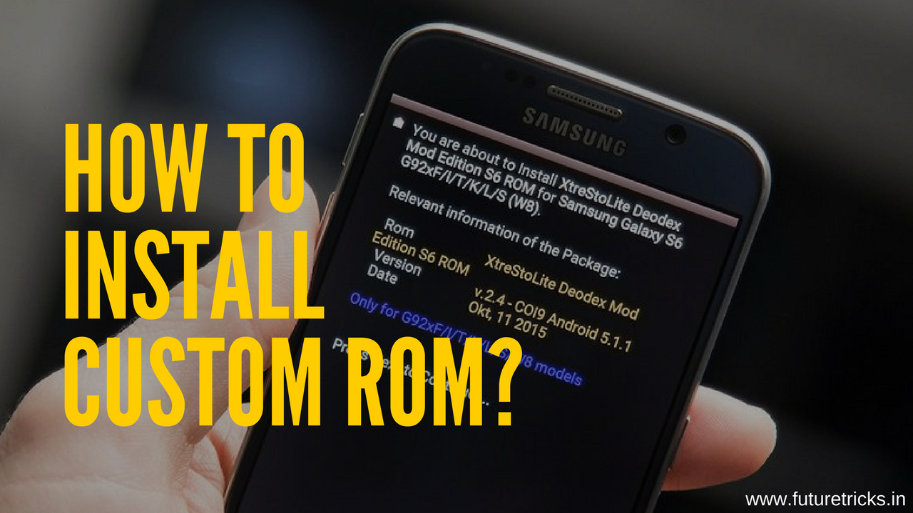 How To Install Custom ROM on Android - MyArticol