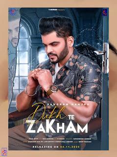 Dukh Te Zakham by Sangram Hanjra mp3 punjabi song - DjPunjab