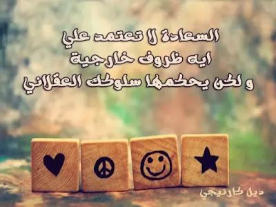 حكم عن السعادة الحقيقية