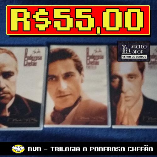 Trilogia O Poderoso Chefão - DVD