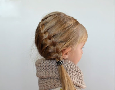 Hairstyles for Little Girls - French Braid