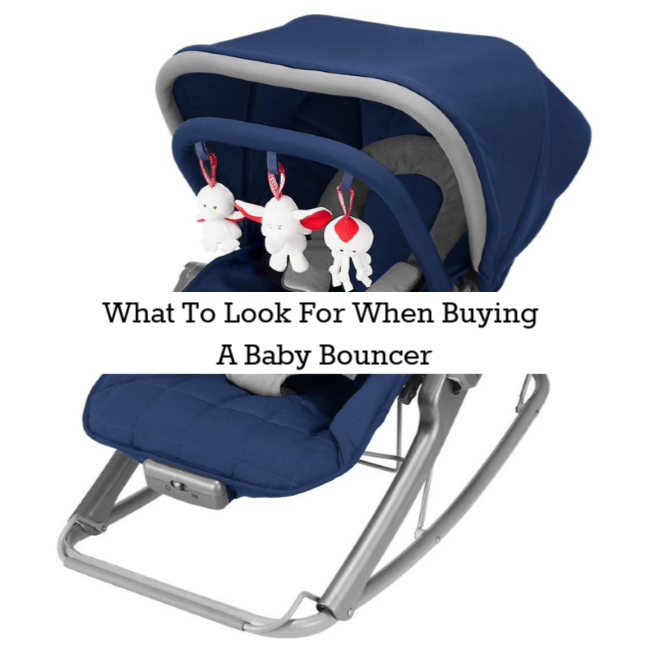 What To Look For When Buying A Baby Bouncer