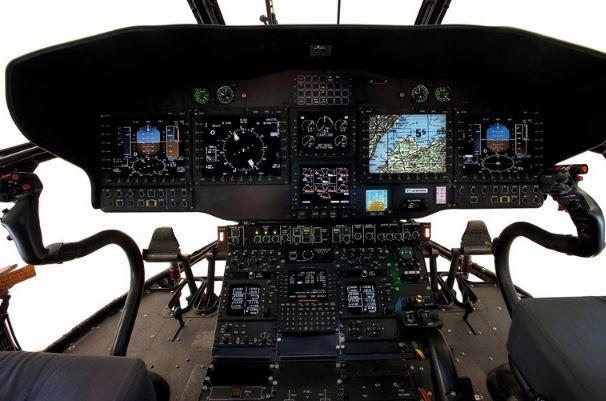 Airbus H215M cockpit
