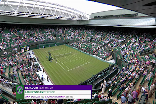The Championships Wimbledon Eutelsat 7A/7B Biss Key 2 July 2019