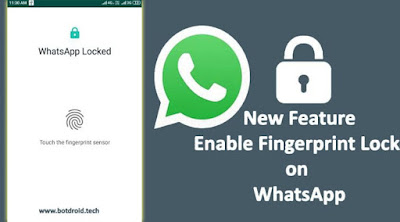 WhatsApp Brings Fingerprint Lock Feature to Android