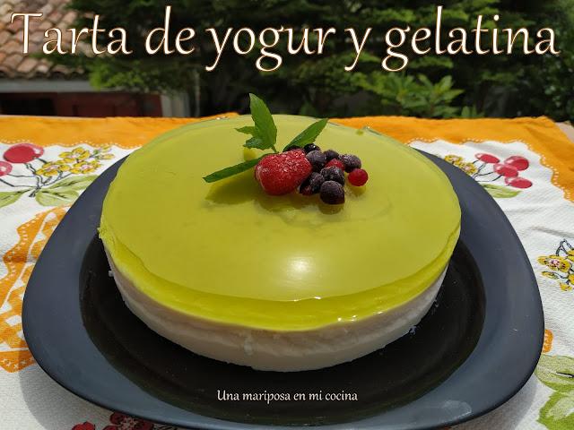 Tarta De Yogur Y Gelatina