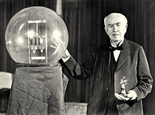 Electric Bulb and Edison