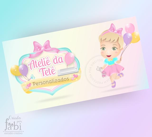 marca e boneca personalizada