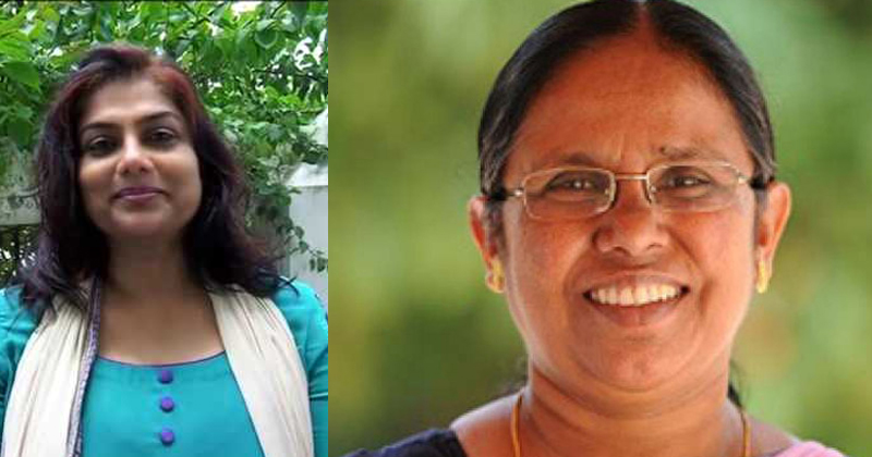 They are in fact a hero's…. In my own experience, they are not only a nobleman but also an intelligent woman. Only love them… Actress Ranjini on Health Minister KK Shailaja's teacher,www.thekeralatimes.com