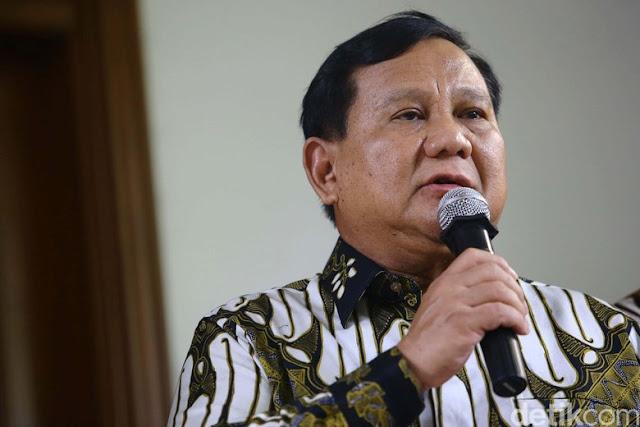 Prabowo Siap Berikan Lahannya di Kaltim untuk Ibu Kota Baru