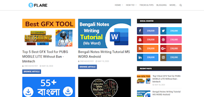 BMT Tech Online Responsive Premium Blogger Template